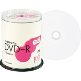 TANOSEE 三菱化学 DHR47JP100T データ用DVD−R 4.7GB ワイドプリンタブル スピンドル100枚