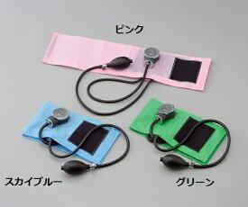 ケンツメディコ アネロイド血圧計(カラー) No.500 ピンク/スカイブルー/グリーン