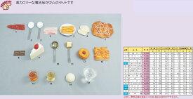 イワイサンプル 糖尿病関連 「カロリーの高い食品」1式セット/食品サンプル/栄養指導用フードモデル