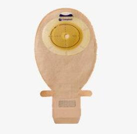センシュラ1(ナチュラル) コロストミー・イレオストミー用 肌色 採便袋 開放型 凸面(高さ5mm)/一体成型ワイドイージクローズ ストーマ用品 15607/15608/15633/15634/15635