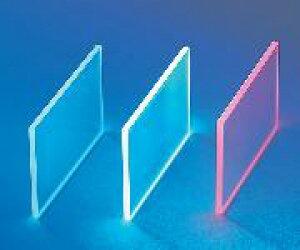機能性蛍光ガラス (ルミラス) 1-8820-02 R7 50×70 赤