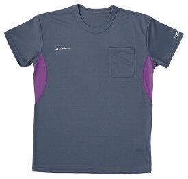 フットマーク FOOTMARK Unisex ユニセックス Phiten ファイテン Tシャツ (カラー:07グリーン/256Dグレー/471PPNK)(サイズ:S/M/L/LL) 404240