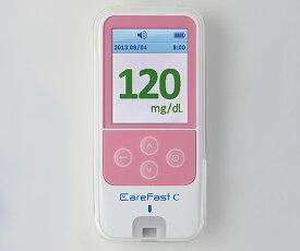 ニプロケアファストC(血糖自己測定器) 11-876 ピンク 45×97×13mm