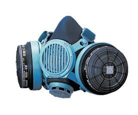 防毒マスク (ガス濃度0.1%以下) 1-6546-01 7191DKG-02