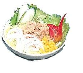 イワイサンプル 75.野菜とツナのサラダ 外食フードモデル 各種/食品サンプル/栄養指導用フードモデル