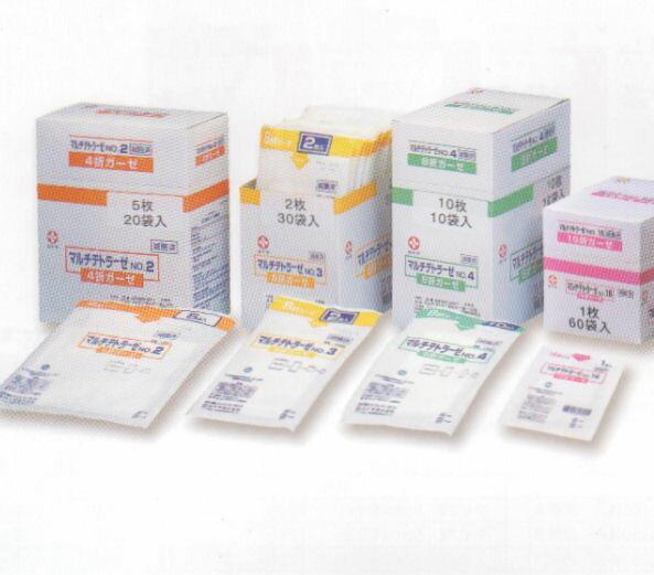 白十字 マルチテトラーゼ NO.2-10枚 10袋入 (滅菌済)