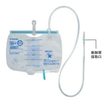テルモ ウロガードプラス 閉鎖式導尿バッグ 2500ml UD-BE3012  5セット入 【新鮮尿採取口なしタイプ】