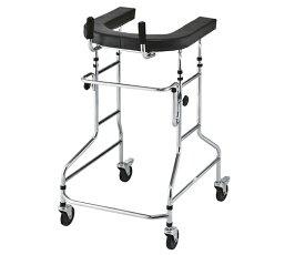 歩行補助器 WALKER NW827 630×730×1000〜1250mm お求めやすいスチール製 歩行器