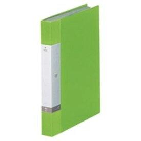 (業務用20セット) LIHITLAB クリアブック/クリアファイル リクエスト 【A4/タテ型】 固定式 40ポケット G3202-6 黄緑