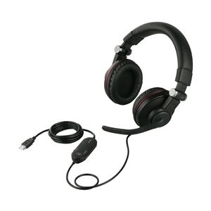 バッファロー(サプライ) ゲーミングヘッドセット 両耳ヘッドバンド式 5.1chサラウンドシステム ブラック BSHSUH05BK