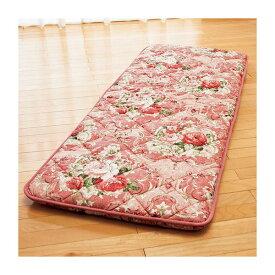 固わた入り 大判ごろ寝 長座布団 (70cm×180cm) 日本製 ピンク