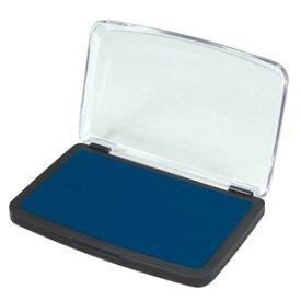(まとめ)アーテック スタンプ台 ブルー(青) 【×30セット】