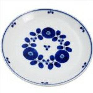 白山陶器 ブルーム プレートL 23.5cm ブーケ
