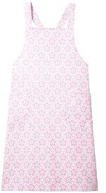 Triumph(トリンプ)  女性用花柄エプロン CDP-901 ロングタイプ サックス・ピンク  病院/クリニック/エステ/サロン/レディース/白衣