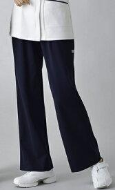LE COQ ルコック UQW2013V ゆったりブーツカットネイビーパンツ ニット ナースウェア S〜ELサイズ
