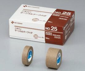 NICHIBAN(ニチバン) サージカルテープ・ハダ NO.25 25mm×9m 12巻 不織布サージカルテープ/肌色/目立ちにくい