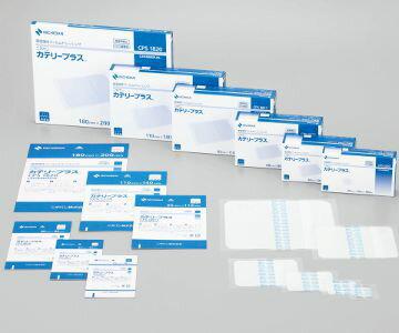 NICHIBAN ニチバン カテリープラス CPS0608 60mm×80mm 1箱35枚入 高透湿性フィルムドレッシング 高透湿/高固定/低刺激