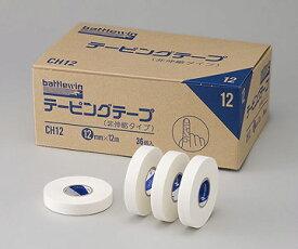 NICHIBAN ニチバン バトルウィン™ テーピングテープ C-タイプ(非伸縮)CH12 12mm×12m 1箱36巻 テーピング/使いやすい/しっかりサポート
