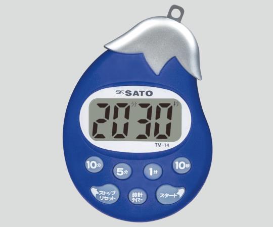 佐藤計量器(SATO) タイマー(野菜シリーズ) TM-14 なす タイマー ナースグッズ 計測機器 介護用品