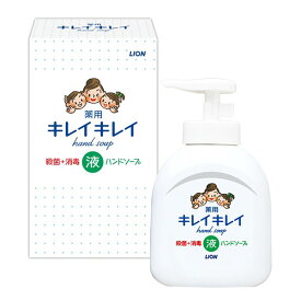【あす楽】【在庫あり】【即発送可能】ライオン キレイキレイ 薬用液体ハンドソープ 250ml 箱入