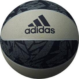 アディダス adidas バスケットボール 7号球 AB7125NV グレイ×ネイビー シャドースクワッド ゴム製