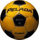 モルテン molten サッカー ペレーダ3000 土用 4号球 F4P3000-YK YKメタリックイエロー×メタリックブラック 検定球
