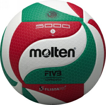 モルテン molten バレーボール フリスタテック バレーボール 5号球 V5M5000 検定球 国際公認球