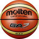 モルテン molten バスケットボール GA7 7号球 オレンジ 貼り・人工皮革 BGA7