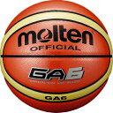 モルテン molten バスケットボール GA6 6号球 屋外用 オレンジ BGA6
