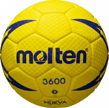 【※5月中旬以降の入荷となります】モルテン molten ハンドボール ヌエバX3600 3号球 屋外グラウンド用 検定球 H3X3600