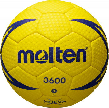 モルテン molten ハンドボール ヌエバX3600 2号球 H2X3600 屋外グラウンド用 検定球