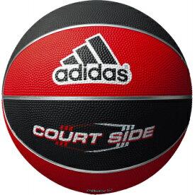 【※11月中旬以降の入荷となります】アディダス adidas バスケットボール 5号球 AB5122RBK 赤黒 コートサイド ゴム製