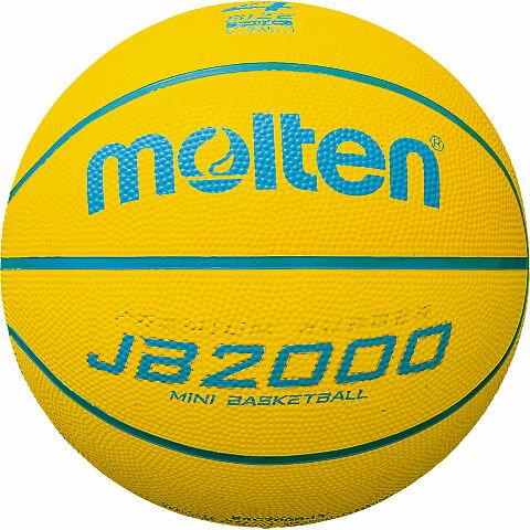 モルテン molten バスケットボール JB2000軽量ソフト 4号球 B4C2000-LY 小学校低学年向