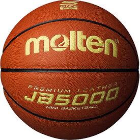 モルテン molten ミニバスケットボール JB5000軽量 5号球 貼り・人工皮革 初心者向 B5C5000-L