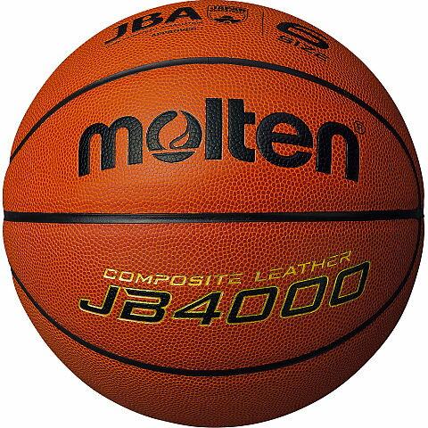 モルテン molten バスケットボール 6号球 JB4000 貼り・人工皮革 検定球 B6C4000