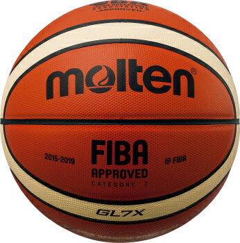 モルテン molten バスケットボール GL7X 7号球 BGL7X 検定球 国際公認球