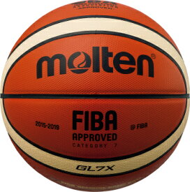 【※6月下旬以降の入荷となります】モルテン molten バスケットボール GL7X 7号球 BGL7X 検定球 国際公認球