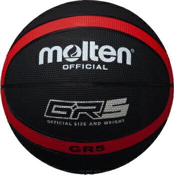モルテン molten バスケットボール GR5 5号球 BGR5-KR ブラック×レッド