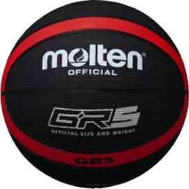モルテン molten バスケットボール GR5 5号球 ブラック×レッド BGR5-KR