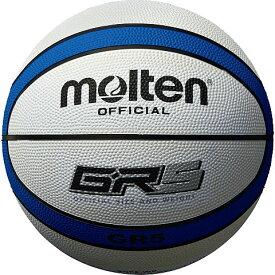 モルテン molten バスケットボール GR5 5号球 BGR5-WB ホワイト×ブルー
