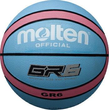 モルテン molten バスケットボール GR6 6号球 BGR6-CP シアン×ピンク