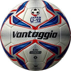 モルテン molten サッカーボール ヴァンタッジオ5000キッズ 4号球 ホワイト×ブルー×レッド 小学校用 検定球 F4V5000-R