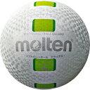 モルテン molten ソフトバレーボールデラックス S3Y1500-WG 白グリーン 糸巻タイプ
