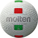 モルテン molten ソフトバレーボールデラックス S3Y1500-WX 白赤緑 糸巻タイプ