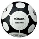 ミカサ MIKASA サッカーボール 4号球 MC401-WBK 小学用 検定球