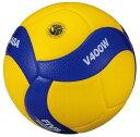 【ネーム加工可】ミカサ MIKASA バレーボール 4号球 中学・家庭婦人用 ディンプル・人工皮革 検定球 V400W