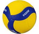 【ネーム加工可】ミカサ MIKASA バレーボール 4号球 中学・家庭婦人用 人工皮革 練習球 V420W