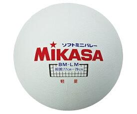ミカサ MIKASA ソフトミニバレーボール(大) BM-LM 特殊配合ゴム 軽量タイプ 公認球