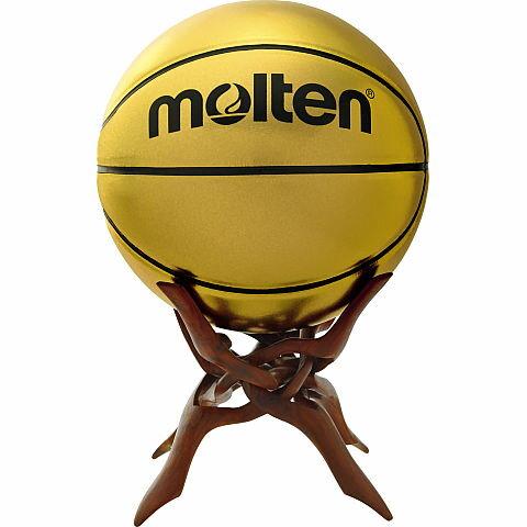 モルテン molten 記念ボール+置台セット バスケットボール B7C9500 7号球 貼り・人工皮革 SW スネークウッド