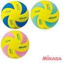 ミカサ MIKASA バレーボール レッスンボール 4号球 軽量 重量約160g 優しい手ざわりとやわらかさを演出しコントロ…